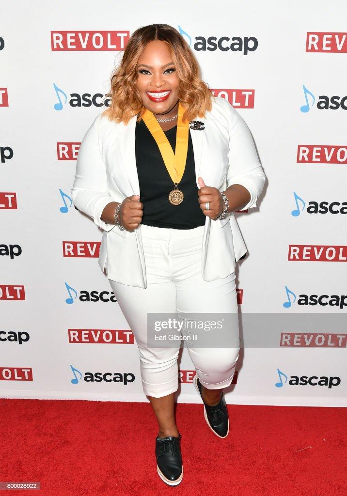 Tasha Cobbs at the ASCAP 2017 Rhythm & Soul Music Awards at the