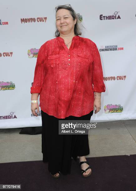 Tasha Newsome arrives for the 2018 Etheria Film Night held at the Egyptian Theatre on June 16 2018 in Hollywood California