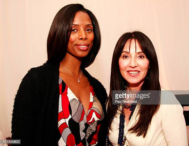 Tasha Smith and Anastasia during In Style Luxury Suites at The Four Seasons Beverly Hills Day 1 at Four Seasons Hotel in Beverly Hills California...