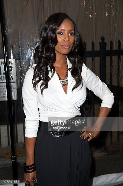 Tasha Smith attends the 10th Annual Heroes In The Struggle Gala Concert on December 1 2010 in Hollywood California