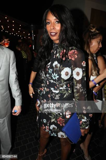 Tasha Smith attends the Annual PreGrammy Reception hosted by Ted Reid at STK on February 9 2017 in Los Angeles California