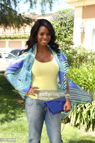 Tasha Smith is seen on August 31 2013 in Los Angeles California