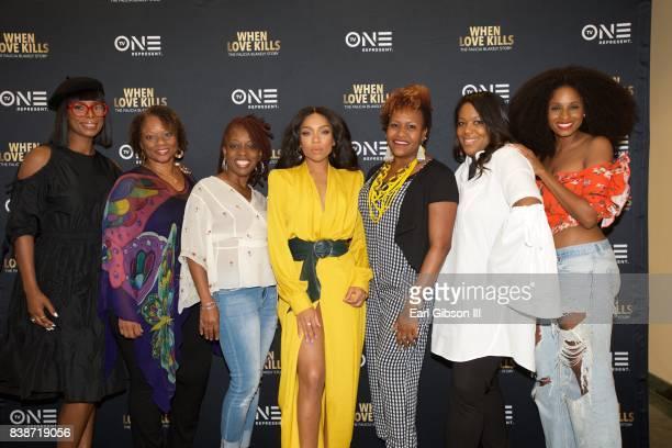 Tasha Smith Pat Prescott Niatia 'Lil Mama' Kirkland Cas SigersBeedles Tia Smith D'Angela Proctor and Tiffany Black attend the SAGAFTRA Foundation...