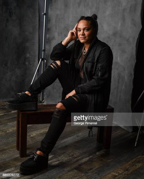 Tasha The Amazon poses at the 2017 Juno Awards Portrait Studio at the Canadian Tire Centre on April 1 2017 in Ottawa Canada
