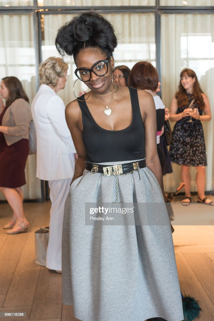 Tashara Jones attends Special Women's Power Lunch Hosted by Tina Brown at Spring Place on June 19, 2017 in New York City.