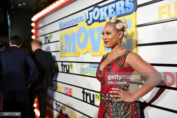 Tashiana Washington attends the Impractical Jokers The Movie Premiere Screening and Party on February 18 2020 in New York City 739100