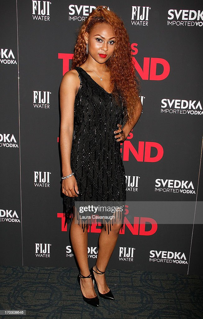 Tashiana Washington attends 'This Is The End' New York Premiere at Sunshine Landmark on June 10, 2013 in New York City.