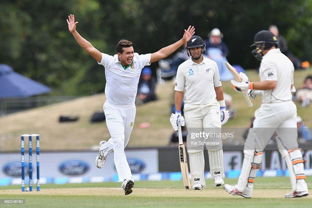 New Zealand v Bangladesh - 2nd Test: Day 2
