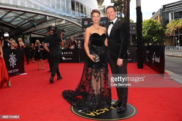 Tasma Walton and Rove McManus attend the 7th AACTA Awards Presented by Foxtel | Ceremony at The Star on December 6 2017 in Sydney Australia