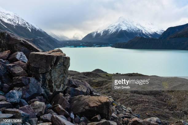 Tasman Lake and Glacier