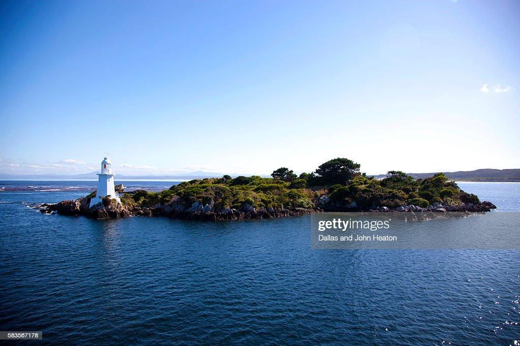 Tasmania Hell's Gate Lighthouse : Stock Photo