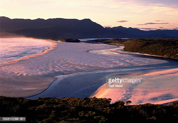 Tasmania, Southwest National Park, Prion Beach and New River Lagoon