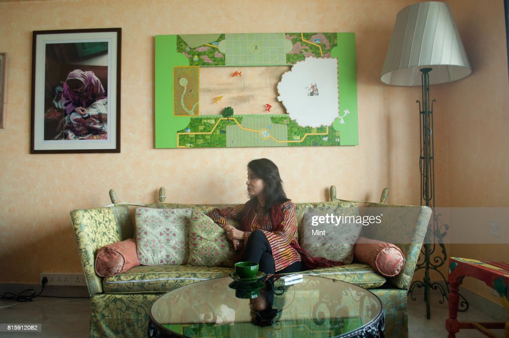 Tasneem Zakaria Mehta, Honorary Director of Mumbais Dr Bhau Daji Lad Mumbai City Museum and Vice-Chairperson of the Indian National Trust for Art and Cultural Heritage, photographed during an interview with Mint in Mumbai.