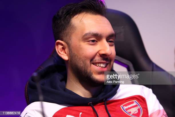 Tassal 'Tass' Rushan of Arsenal during day one of the 2019 ePremier League Finals at Gfinity Arena on March 28 2019 in London England