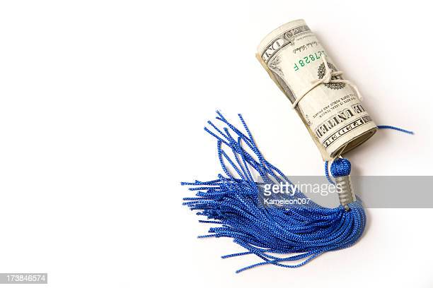 tassel and  money - tassel stock pictures, royalty-free photos & images