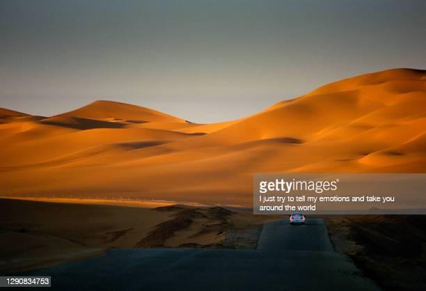 tassili n'ajjer desert, national park, algeria - africa - desert stock pictures, royalty-free photos & images