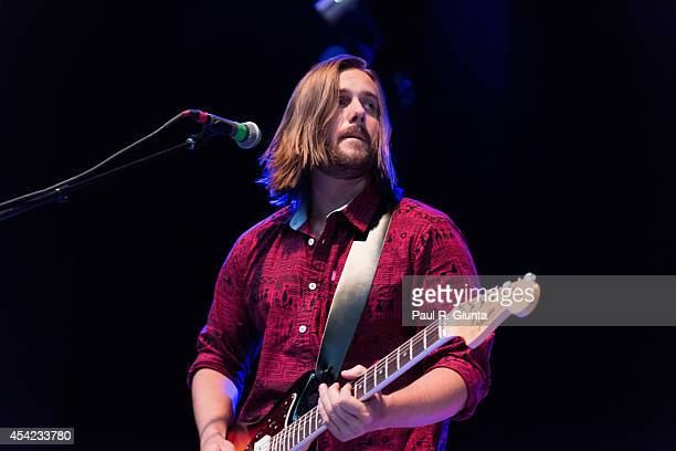 Tasso Smith of Youngblood Hawke performs onstage at The Greek Theatre on August 26 2014 in Los Angeles California