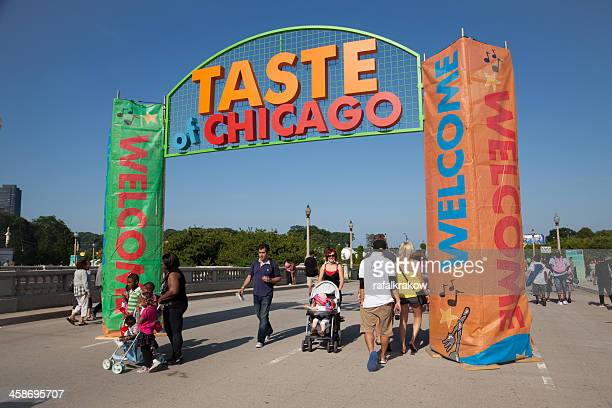 Taste of Chicago annual festival