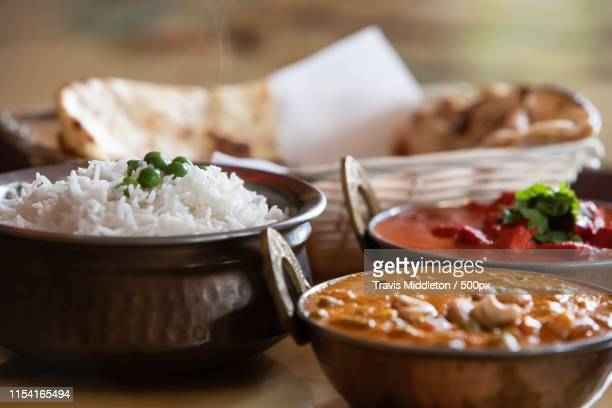 a taste of nepal - chicken tikka stock photos and pictures