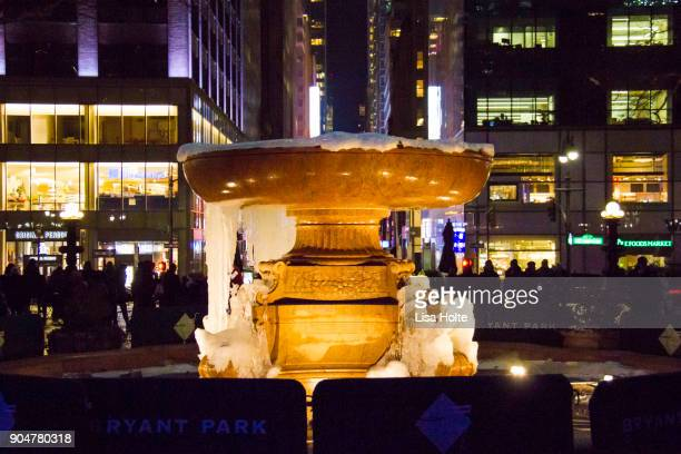 A Taste Of The Winter Village At Bryant Park in New York City