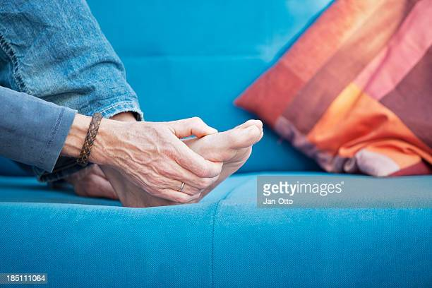 gout - osteoarthritis stock photos and pictures
