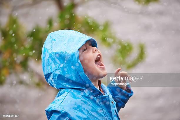 Goûtez la pluie