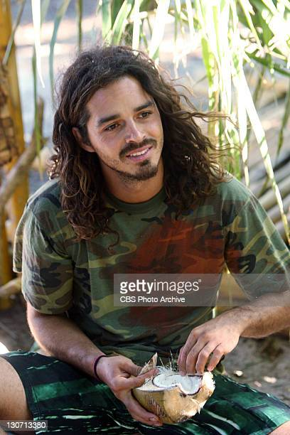 Taste The Victory Ozzy Lusth of The Savaii Tribe during the fifth episode of SURVIVOR SOUTH PACIFIC Wednesday Oct 12 on the CBS Television Network
