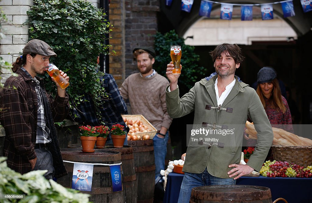 Alex James And Kronenbourg Celebrate 350th Anniversary In Traditional Alsace Village