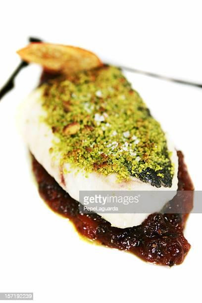 Schmackhafte Fisch plate