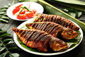 Tasty grilled fish.