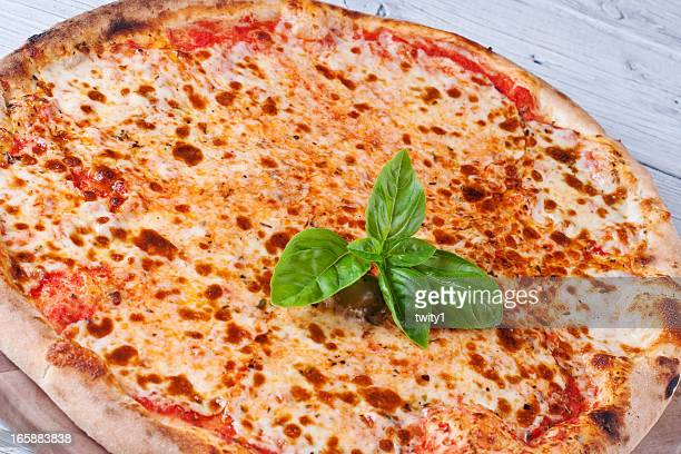 tasty pizza margharita - cheese pizza stock photos and pictures
