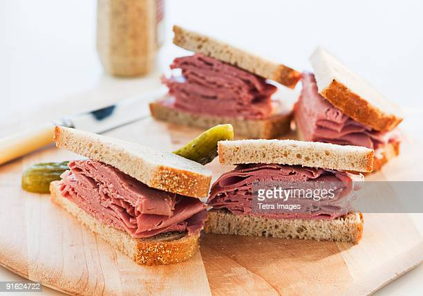 A tasty sandwich