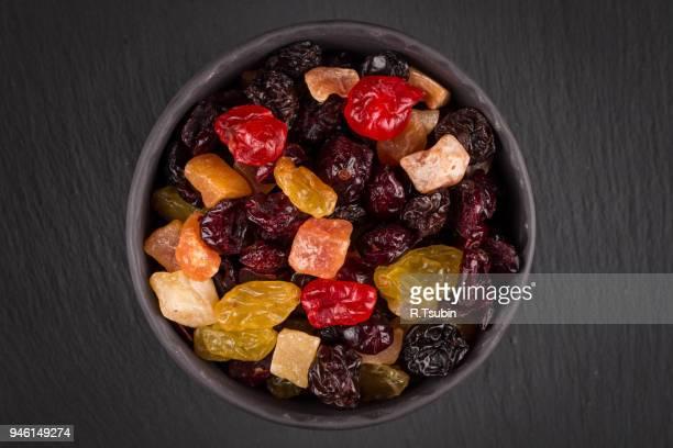 tasty sweet fruit mix