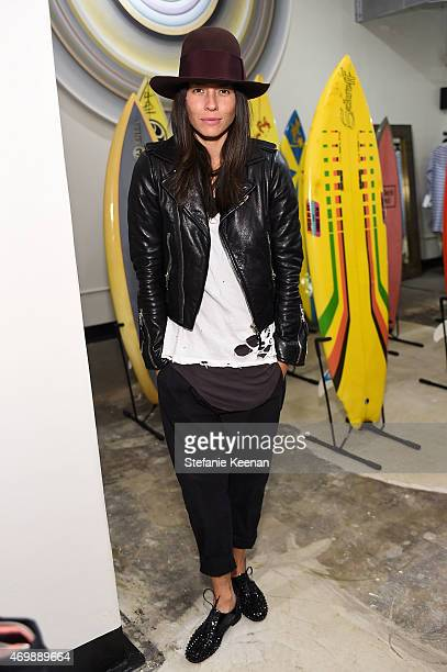Tasya Van Ree attends Just One Eye Celebrates The Launch Of The Julien David Quiksilver Collection CoHosted By Paul Sevigny on April 15 2015 in Los...