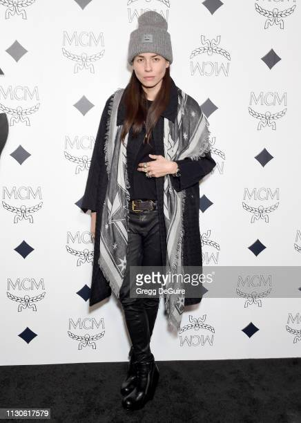 Tasya van Ree attends MCM Global Flagship Store Grand Opening On Rodeo Drive at MCM Global Flagship Store on March 14 2019 in Beverly Hills California