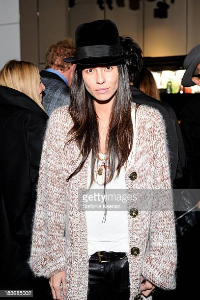 Tasya Van Ree attends Stephen Webster And Rankin Celebrate Their AW1314 Collaboration on October 8 2013 in Beverly Hills California