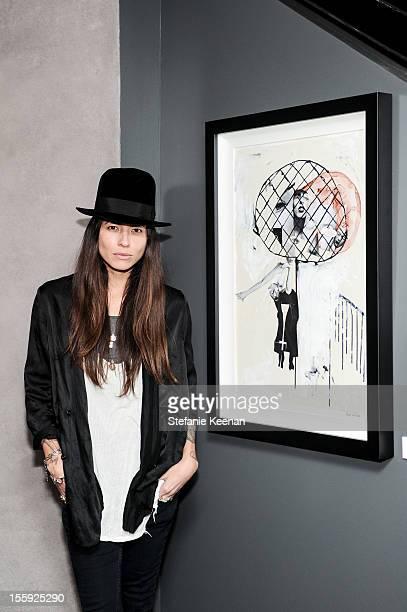 Tasya Van Ree attends Stephen Webster Hosts Tasya Van Ree Replica Exhibition on November 8 2012 in Los Angeles California