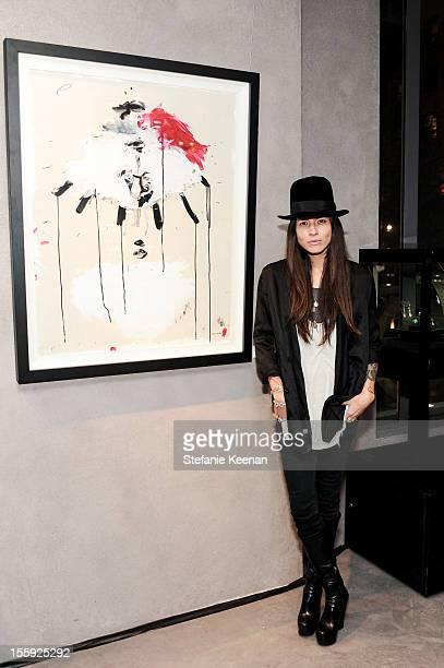 Tasya Van Ree attends Stephen Webster Hosts Tasya Van Ree 'Replica' Exhibition on November 8 2012 in Los Angeles California