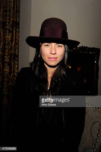 Tasya van Ree attends the PHOTO Magazine Celebration of its Los Angeles Special Issue at the Chateau Marmont on May 2 2015 in West Hollywood...