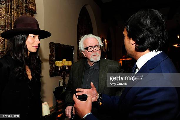 Tasya van Ree David Fahey and David Kane attend the PHOTO Magazine Celebration of its Los Angeles Special Issue at the Chateau Marmont on May 2 2015...