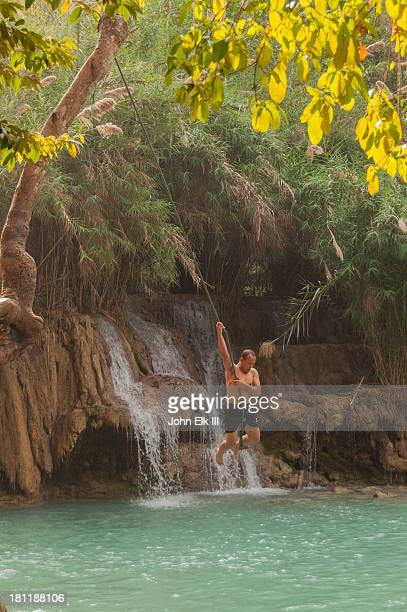 Tat Kuang Si, lower pool with rope swing