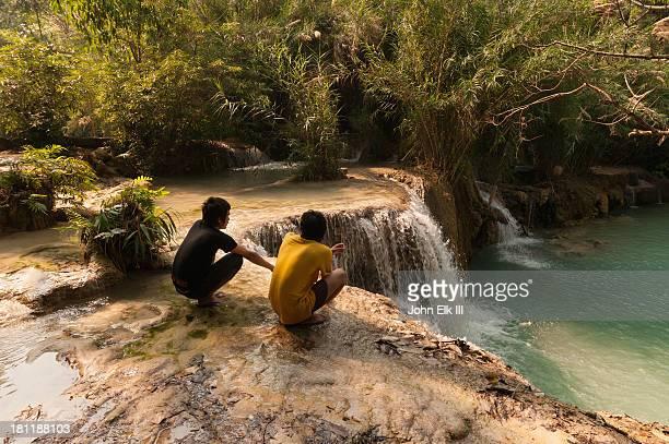 Tat Kuang Si, lower waterfall