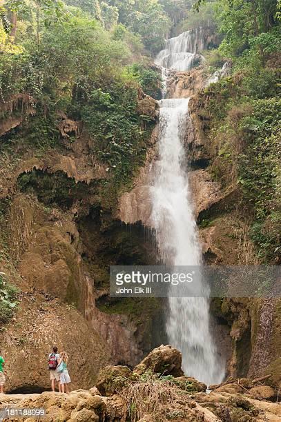 Tat Kuang Si, waterfall from below