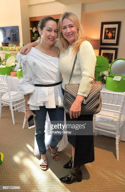 Tata Harper Skincare Tata Harper and Cher Coulter attend the Tata Harper VIP Masterclass at Sunset Tower on December 14 2017 in Los Angeles California