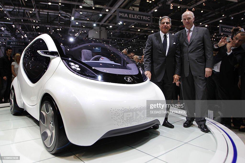Tata Motors chief executive officer Carl : News Photo