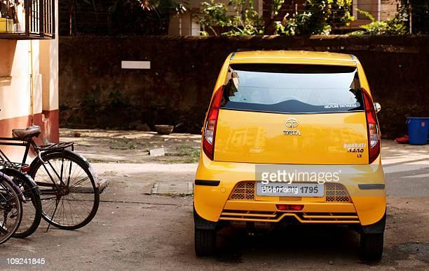 tata motors may sell nano car in thailand sri lanka ストックフォトと