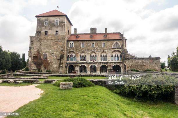 los turistas Tata Castillo Tatai var Hungría