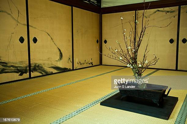 Tatami and Ikebana at Ninnaji Temple Ninnaji is one of Kyoto's most interesting temples with a large variety of extraordinary buildings and gardens...
