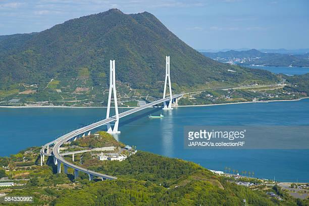 Tatara Bridge of Setouchi Shimanami Kaido Expressway