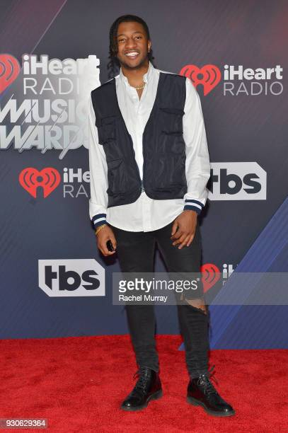 Tate arrives at the 2018 iHeartRadio Music Awards which broadcasted live on TBS TNT and truTV at The Forum on March 11 2018 in Inglewood California